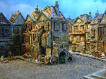 miniature european buildings