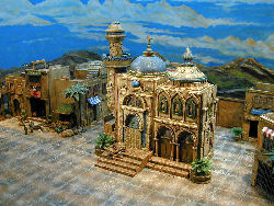 Middle East miniature buildings
